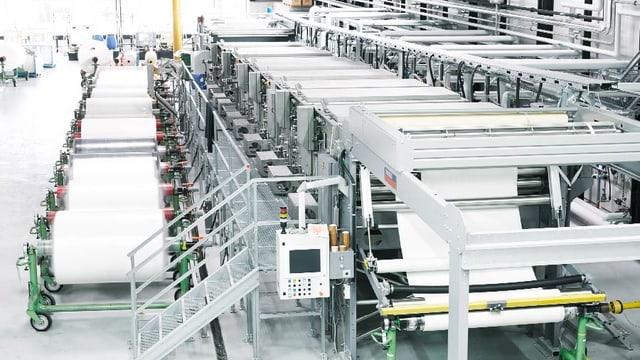Fabrikraum von oben
