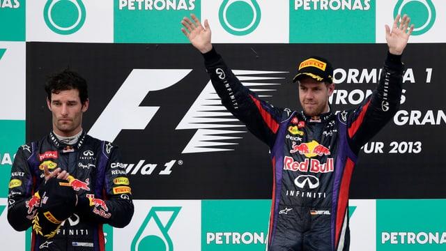 Sebastian Vettel (r.) würde wohl wieder gleich handeln.