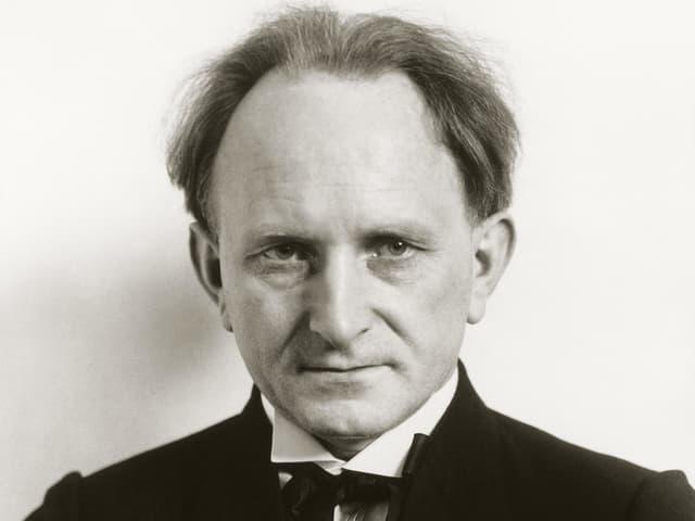 August Sander im Porträt.