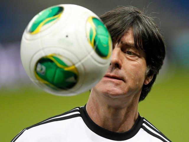 Joachim Löw ist vor dem Ecuador-Spiel zuversichtlich.