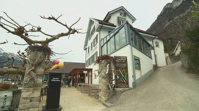 Video «Sarganserland – Tag 4 – Restaurant Schifflände, Quinten» abspielen