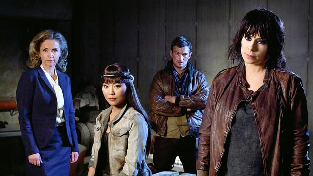 Vier Hauptfiguren aus der TV-Serie «Real Humans»