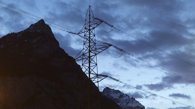 Pitga electrica en muntogna