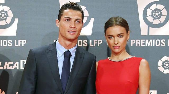 Christiano Ronaldo und Irina Shayk