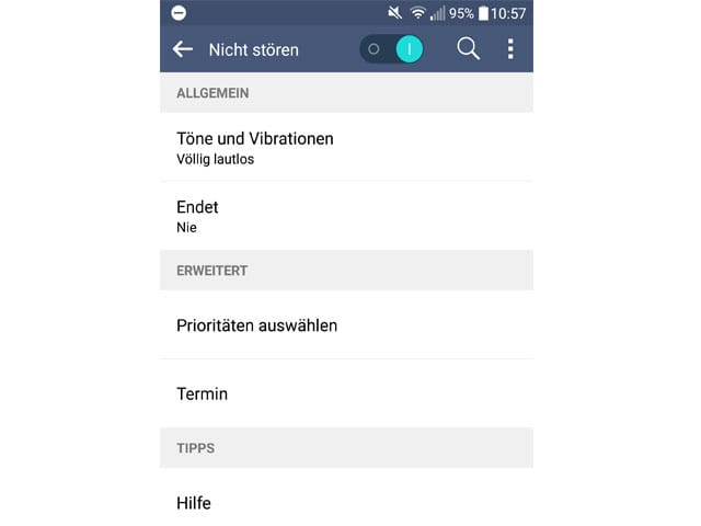 Screenshot Android-Phone