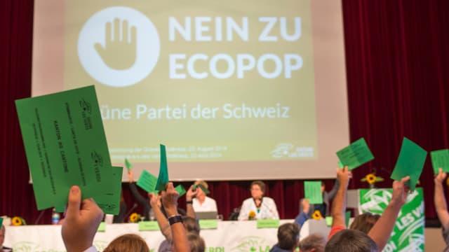 Auch Grüne gegen Ecopop