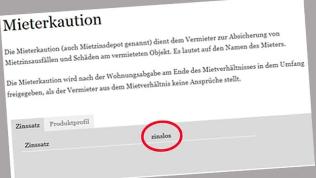 Screenshot der Internetseite von Clientis