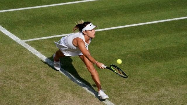 La giugadra da tennis Belinda Bencic.