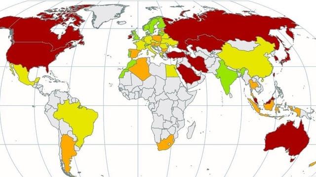 Jährliches Rating von Klimaschutzorganisationen