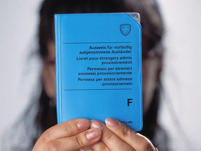 Ausländerausweis F