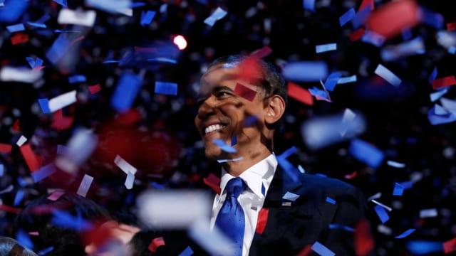 «Yes, we can!»: Obama gewinnt die US-Präsidentschaftswahl 2008.