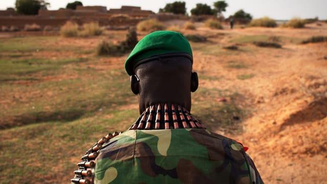 Soldat in Mali