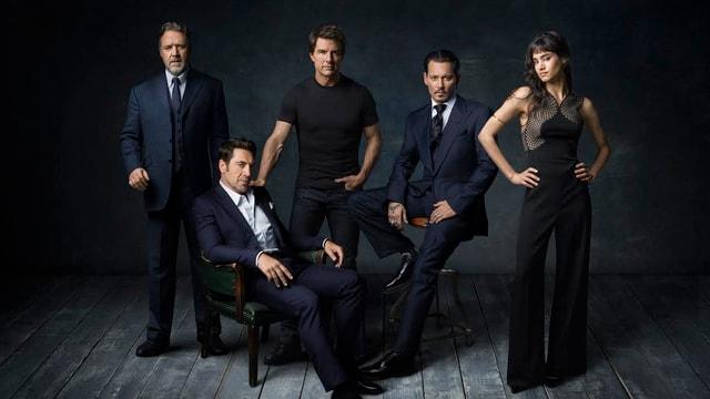 Die Protagonisten des Dark Universe im Gruppenbild.