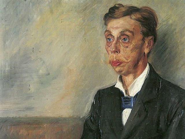 Porträt von Eduard von Keyserling.