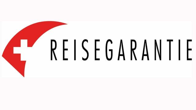 Logo Schweizerkreuz plus Schriftzug Reisgarantie