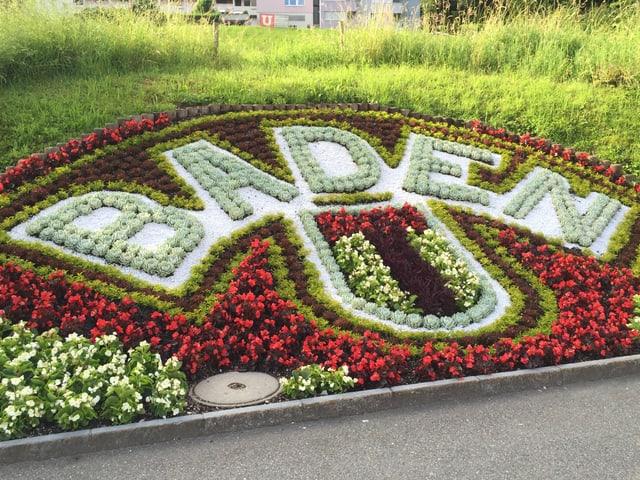 Blumenschmuck Baden
