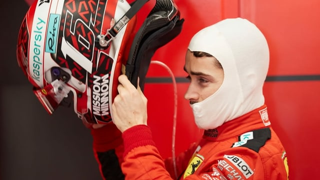 Ferrari-Pilot Charles Leclerc.