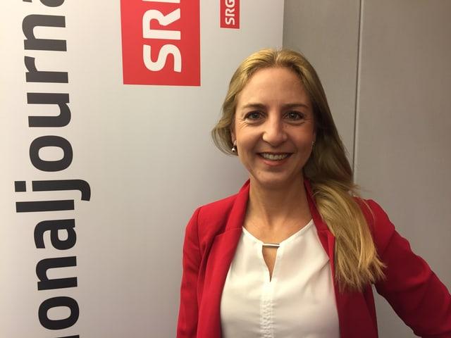 Katja Christ, Parteipräsidentin der GLP.