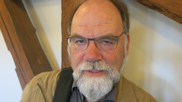 Porträt von Francis Python.