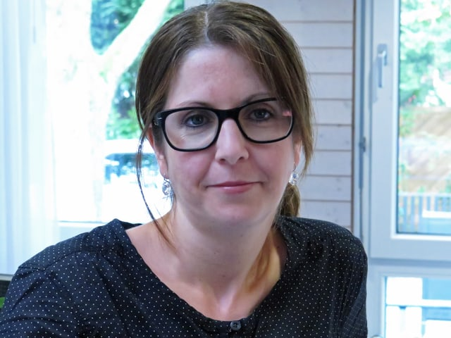 Nicole Zürcher, Schulleiterin.