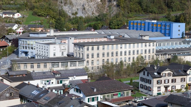 Electrolux-Areal in Schwanden