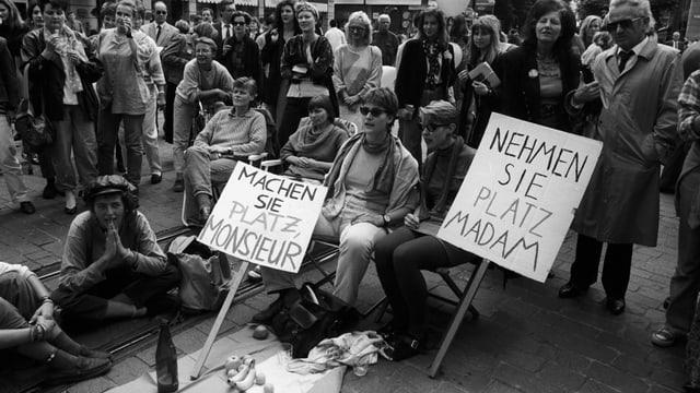 Info-Box zum Frauenstreik 1991