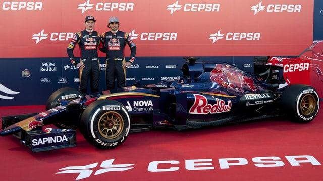 Toro Rosso geht mit zwei Neulingen in die neue Formel-1-Saison.