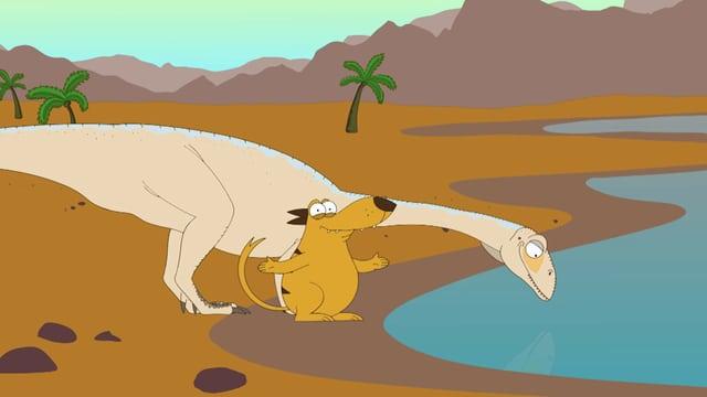 Video «Ralph und die Dinosaurier: Jingshanosaurus (10/26)» abspielen