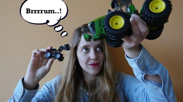 Traktoren in Mädchenhänden... warum eigentlich nicht?