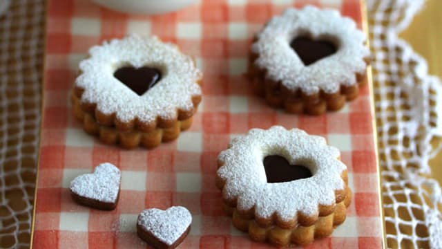 Ein herbstlicher Dessertteller von Priska Scherrer