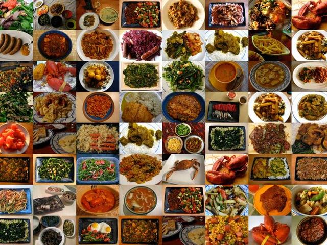 Hasan Elahi's tägliche Mahlzeiten