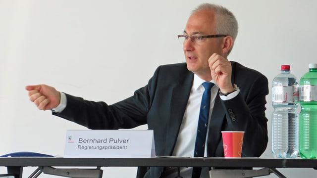 Die Zukunft von Bernhard Pulver