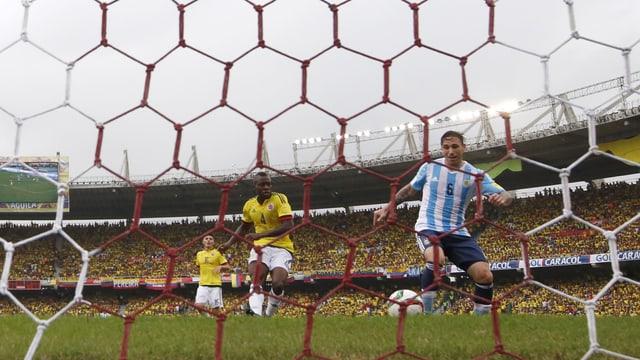 Lucas Biglia von Argentien.