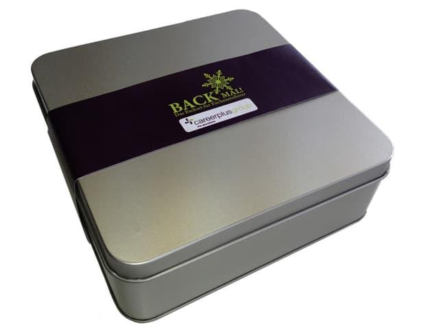 Was Kunden wohl denken, wenn sie eine solche Box von einer Firma als Geschenk erhalten...?