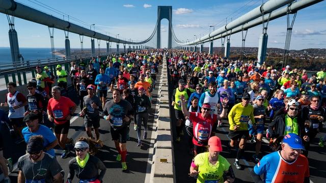 Marathon-Läufer.