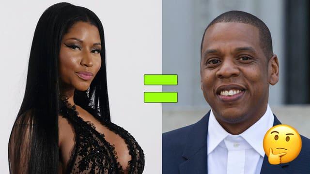Nicki Minaj und Jay-Z