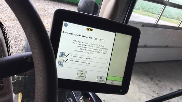 GPS-Gerät im Computer