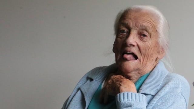 Era cun bunamain 104 onns anc plain humor - Elsa Schmucki