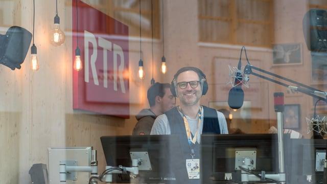 Radiomoderator Livio Foffa