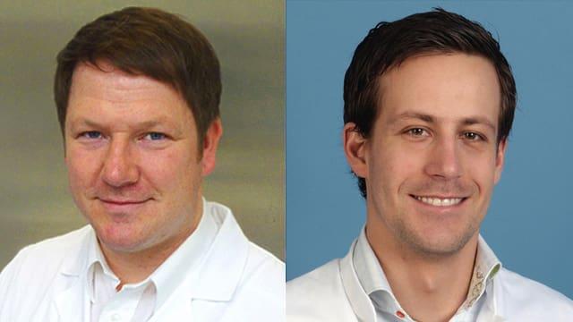 Dr. Georg Damerau und Dr. Thomas Schneider.