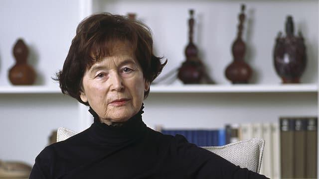 Porträt von Elisabeth Kopp.