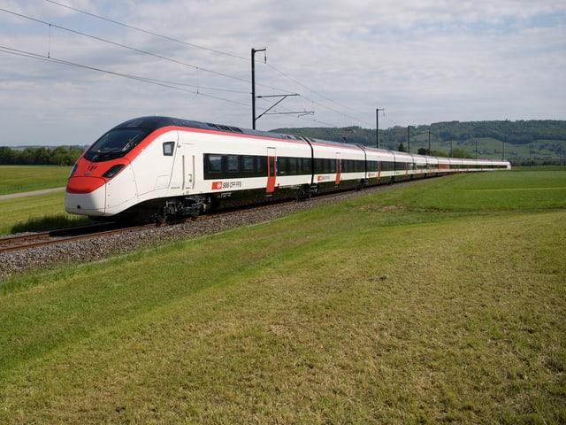 «Giruno»: Der neue EC250 ist bis zu 400 Meter lang und bietet 810 Personen Platz.