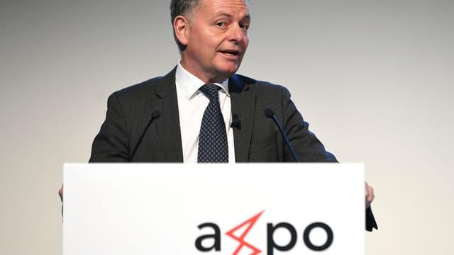 Foto von Axpo-Verwaltungsratspräsident Thomas Sieber