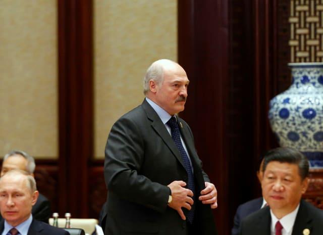 Beim «Belt and Road»-Forum in Peking 2017