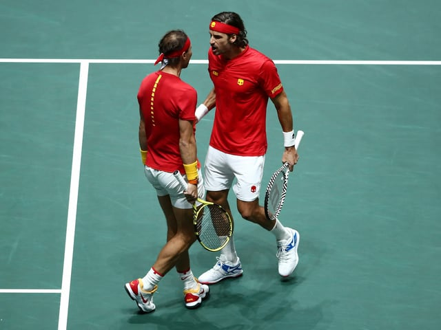 Rafael Nadal und Feliciano Lopez.