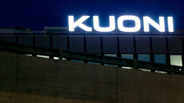 Il logo da Kuoni.