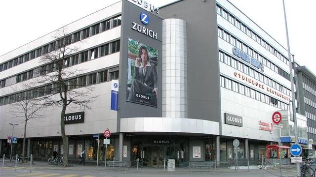 Globus Gebäude in Chur