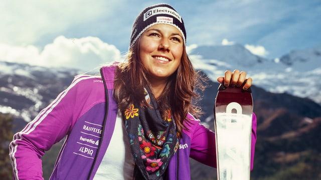 Wendy Holdener freut sich auf den Slalom in Levi.
