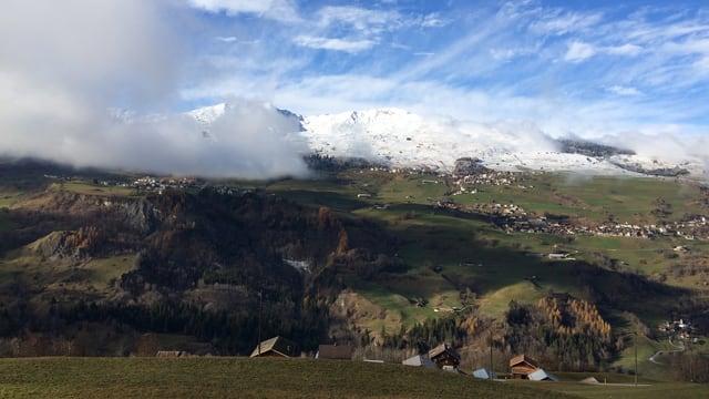 La Val Lumnezia.