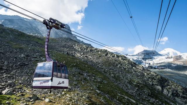 Saastal Bergbahn